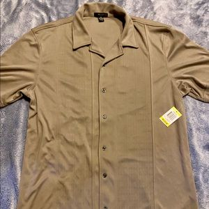 Alfani Men's Casual Button Down Shirt, M